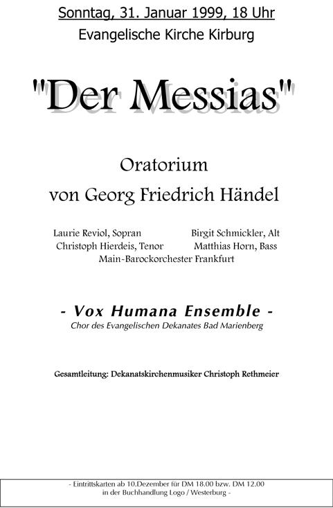 Messias 1999