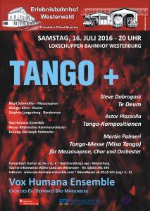 Tango+ 2016