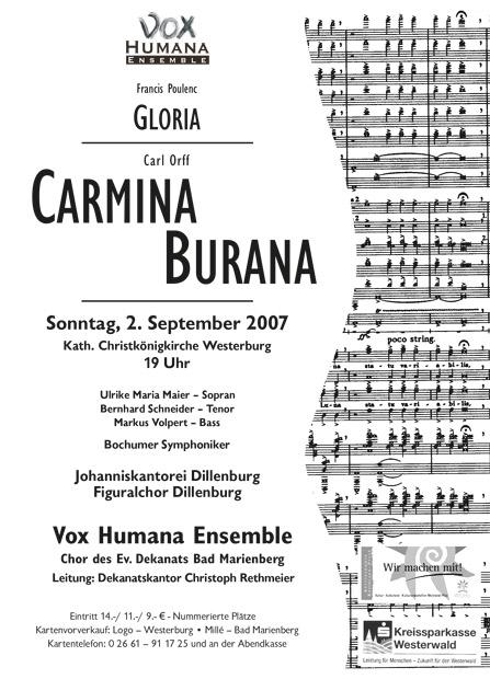 Carmina Burana 2007
