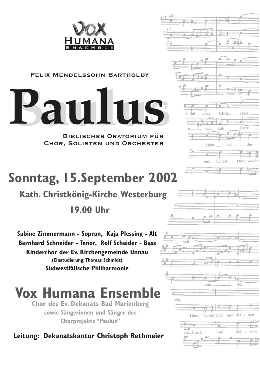 Mendelssohn, Paulus-2002