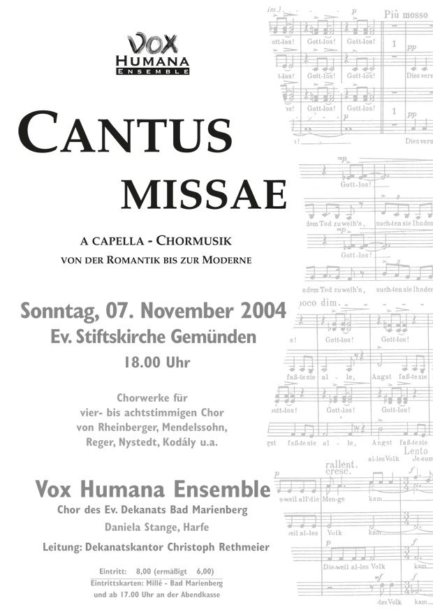 Cantus Missae-2004