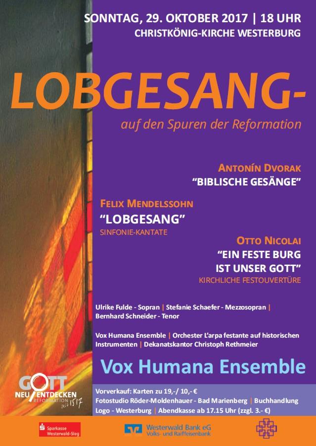 Lobgesang, auf den Spuren der Reformation 2017