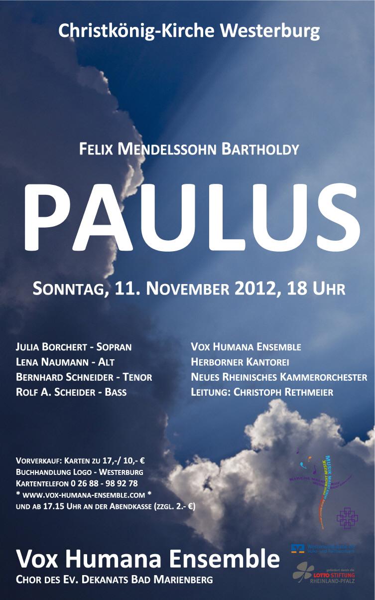 Paulus 2012
