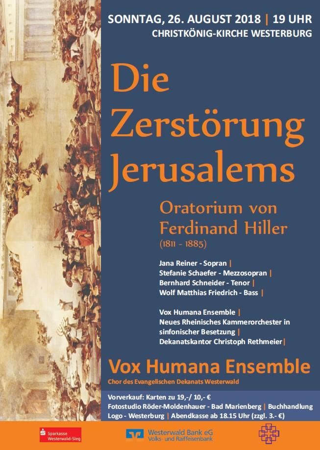 """""""Die Zerstörung Jerusalems"""" Konzert August 2018"""